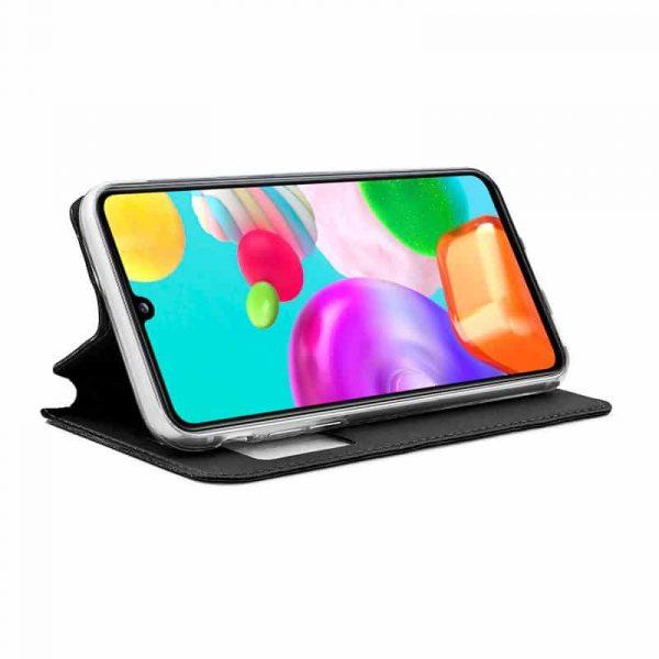 Funda Con Tapa Samsung Galaxy A41 Negro 2
