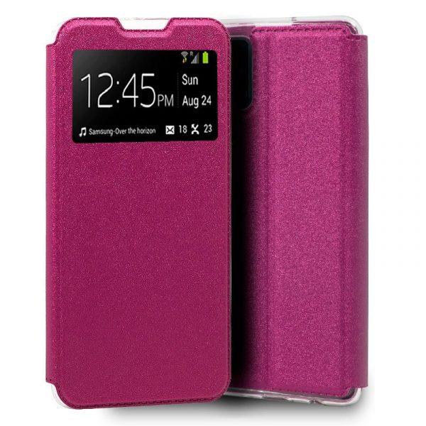 Funda Con Tapa Samsung Galaxy A41 Rosa 1
