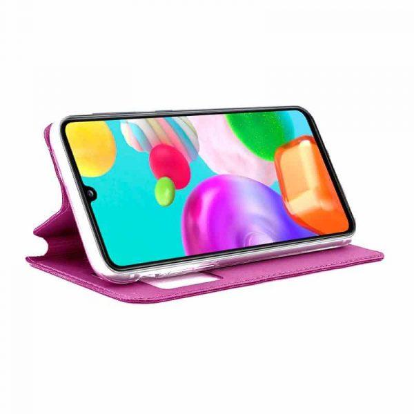 Funda Con Tapa Samsung Galaxy A41 Rosa 2