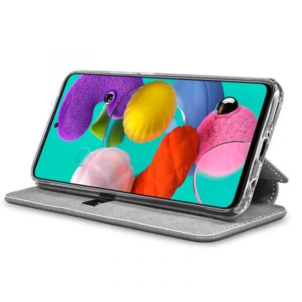 Funda Con Tapa Samsung Galaxy A51 Dibujos Piñas 2