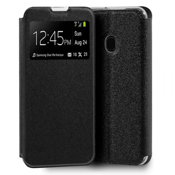 Funda Con Tapa Samsung Galaxy M21 Negro 1