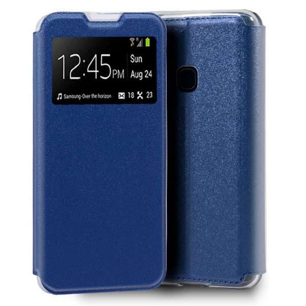 Funda Con Tapa Samsung Galaxy M31 Azul 1