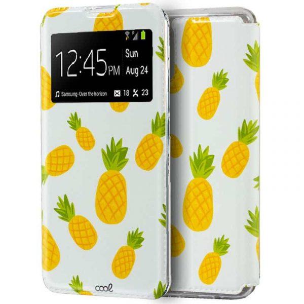 Funda Con Tapa Samsung Galaxy Note 10 Lite Piñas 1