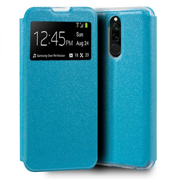 Funda Con Tapa Xiaomi Redmi 8 / 8A Celeste 1