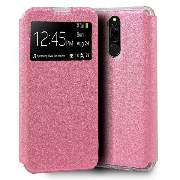 Funda Con Tapa Xiaomi Redmi 8 / 8A Rosa 1