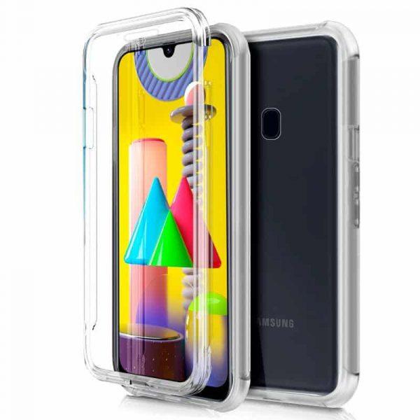 Funda Silicona 3D Samsung Galaxy M31 (Transparente Frontal + Trasera) 1