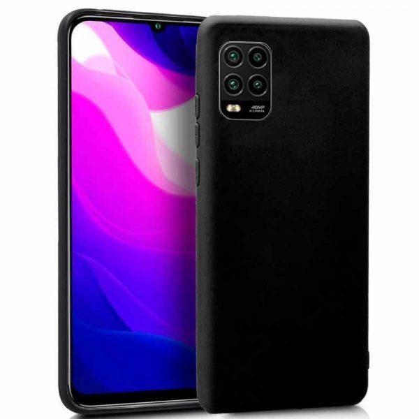 Funda Silicona Xiaomi Mi 10 Lite Negro 1