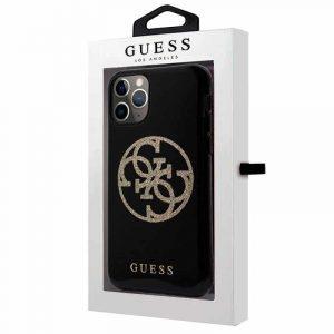 Carcasa iPhone 11 Pro Guess Glitter Negro 4