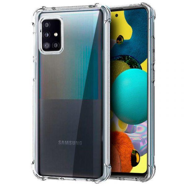 Carcasa Samsung Galaxy A51 5G AntiShock Transparente 1