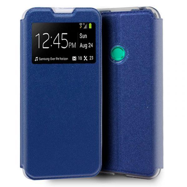 funda flip cover huawei p smart 2020 azul 1