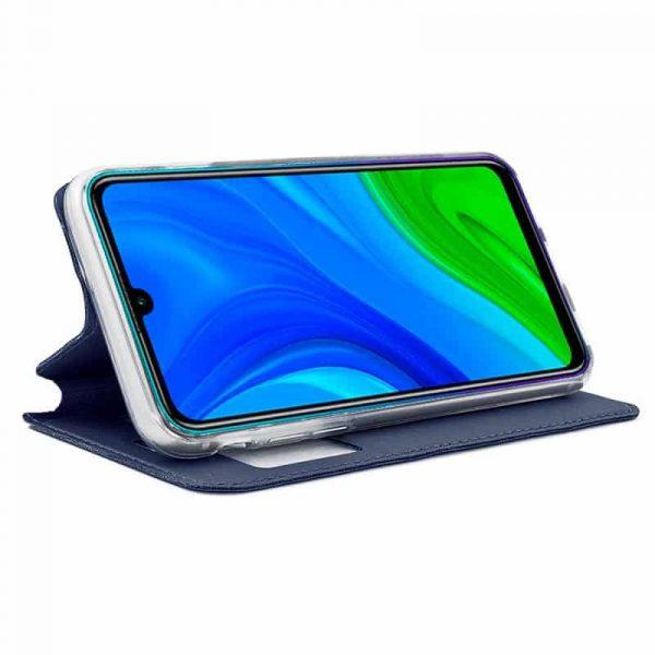 funda flip cover huawei p smart 2020 azul 2