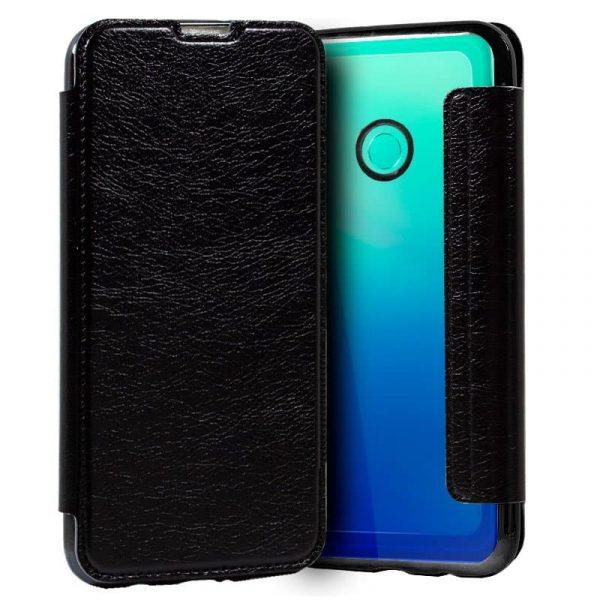 Funda Con Tapa Huawei P40 Lite E Leather Negro 1