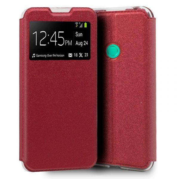 Funda Con Tapa Huawei P40 Lite E Rojo 1