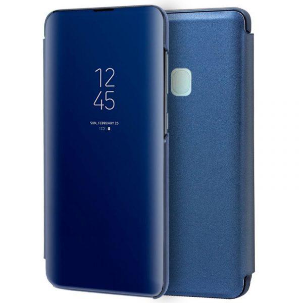 Funda Con Tapa Samsung Galaxy A21s Clear View Azul 1