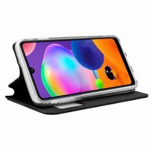 Funda Con Tapa Samsung Galaxy A31 Negro 3