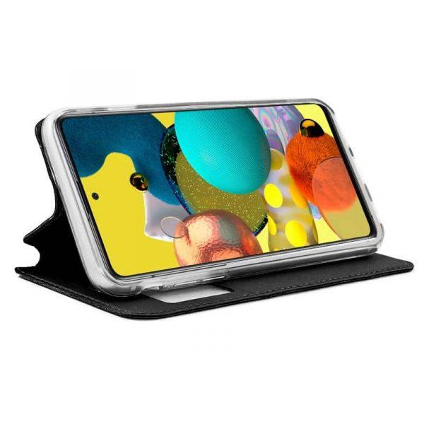 Funda Con Tapa Samsung Galaxy A51 5G Negro 2
