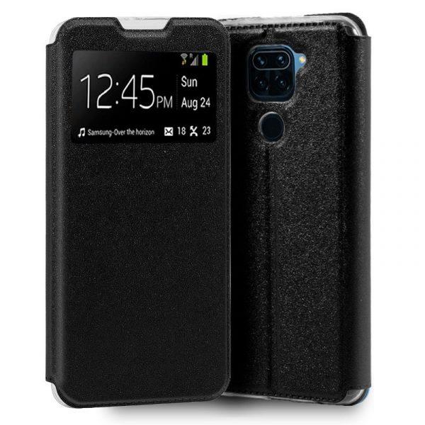 Funda Con Tapa Xiaomi Redmi Note 9 Negro 1