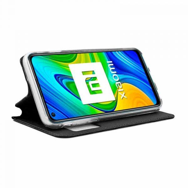 Funda Con Tapa Xiaomi Redmi Note 9 Negro 2