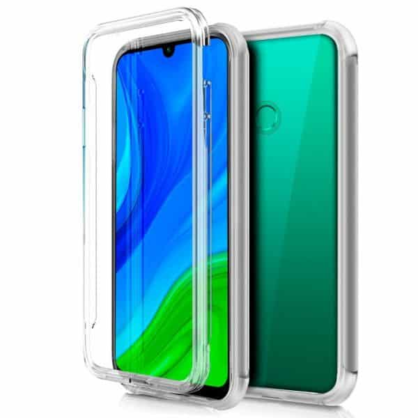 funda silicona 3d huawei p smart 2020 transparente frontal trasera 1