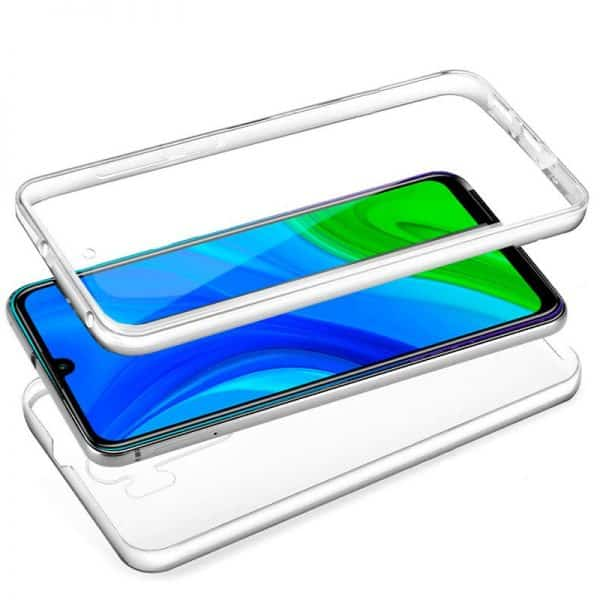 funda silicona 3d huawei p smart 2020 transparente frontal trasera 2