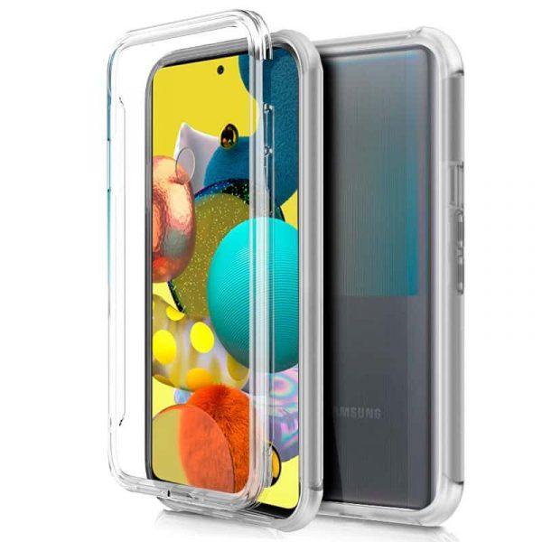 Funda Silicona 3D Samsung Galaxy A51 5G (Transparente Frontal + Trasera) 1