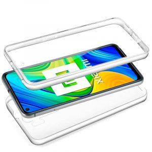 Funda Silicona 3D Xiaomi Redmi Note 9 (Transparente Frontal + Trasera) 3