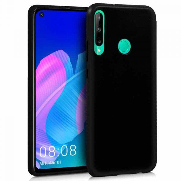 Funda Silicona Huawei P40 Lite E Negro 1