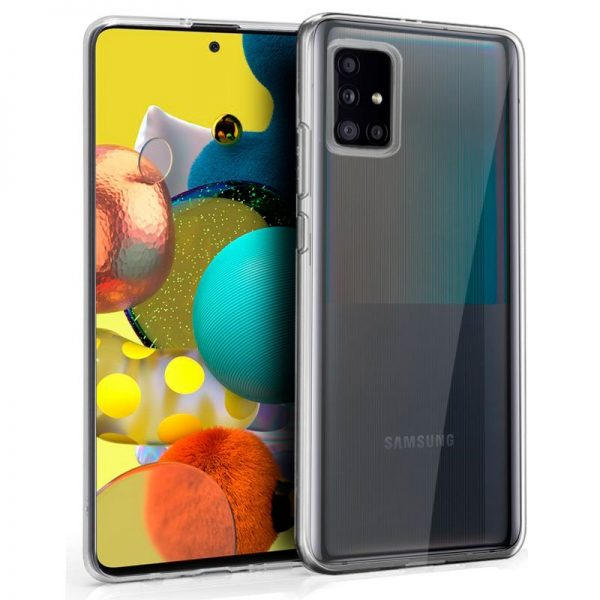 Funda Silicona Samsung Galaxy A51 5G Transparente 1
