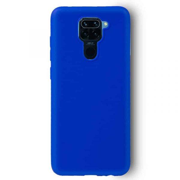 Funda Silicona Xiaomi Redmi Note 9 Azul 2