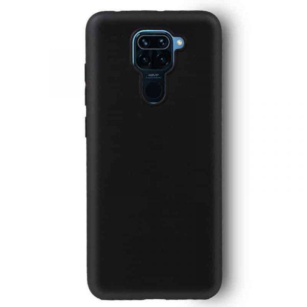 Funda Silicona Xiaomi Redmi Note 9 Negro 2