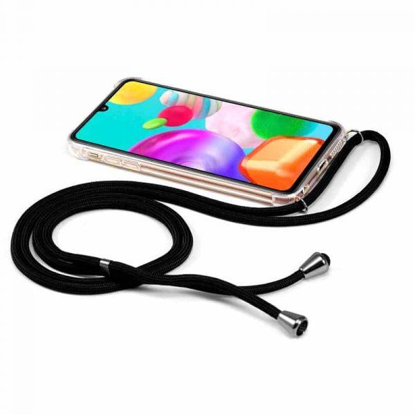 Carcasa Samsung Galaxy A41 Cordón Negro 2