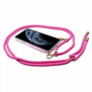 Carcasa iPhone 11 Pro Guess Cordón Rosa 5