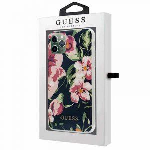 carcasa iphone 11 pro max licencia guess flores 2