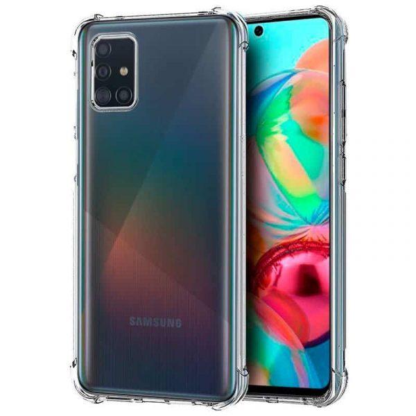 Carcasa Samsung Galaxy A71 AntiShock Transparente 1
