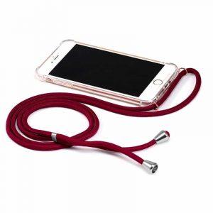 Carcasa Samsung Galaxy A71 Cordón Granate 3