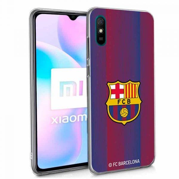 carcasa xiaomi redmi 9a 9at licencia futbol fc barcelona 1