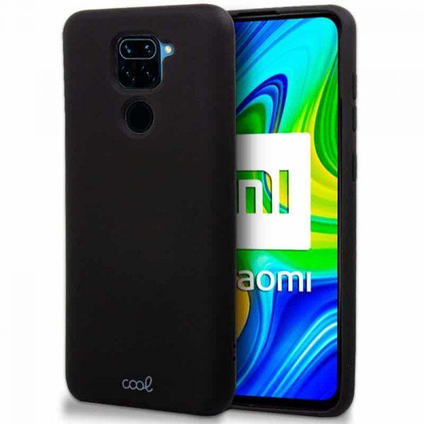 Carcasa Xiaomi Redmi Note 9 Cover Negro 1