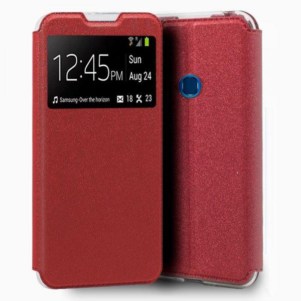 Funda Con Tapa Samsung Galaxy A20s Rojo 1