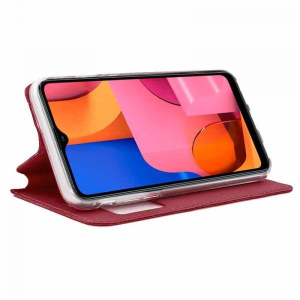 Funda Con Tapa Samsung Galaxy A20s Rojo 2