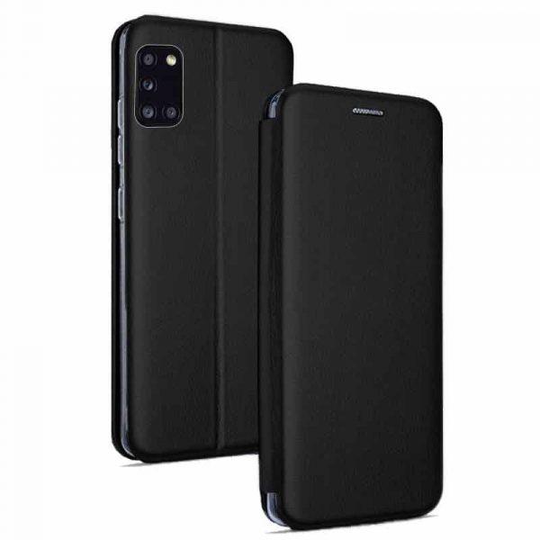 Funda Con Tapa Samsung Galaxy A31 Elegance Negro 1