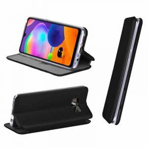 Funda Con Tapa Samsung Galaxy A31 Elegance Negro 4