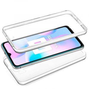 funda silicona 3d xiaomi redmi 9a 9at transparente frontal trasera 2