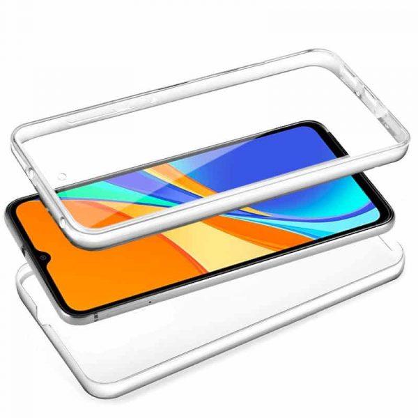 Funda Silicona 3D Xiaomi Redmi 9C (Transparente Frontal + Trasera) 2