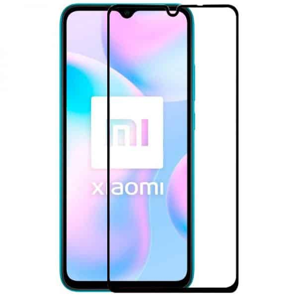 protector pantalla cristal templado xiaomi redmi 9a 9at full 3d negro 1