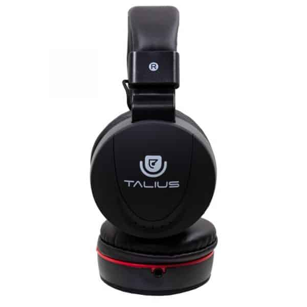 auriculares cascos hp5005 talius cable jack 35 mm negro 3