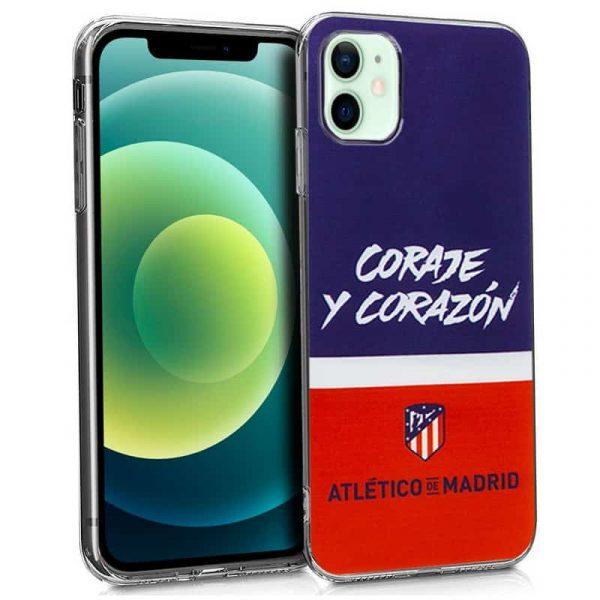carcasa iphone 12 12 pro licencia futbol atletico de madrid 1