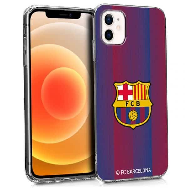 carcasa iphone 12 mini licencia futbol fc barcelona 1
