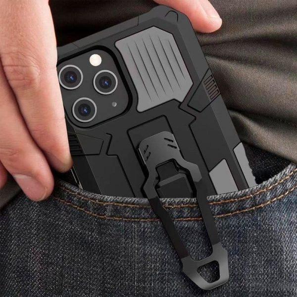 carcasa iphone 12 pro max hard clip negro 3