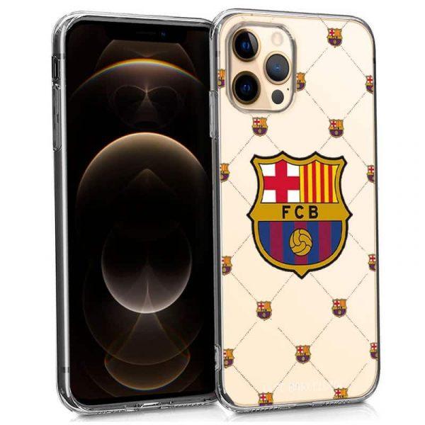 carcasa iphone 12 pro max licencia futbol fc barcelona 1