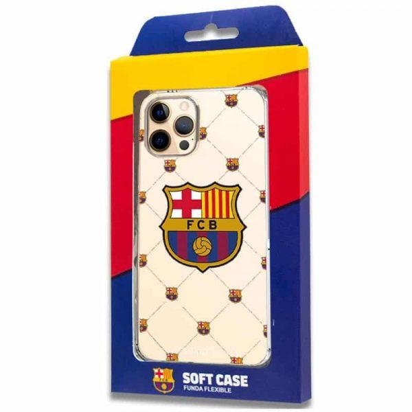 carcasa iphone 12 pro max licencia futbol fc barcelona 2